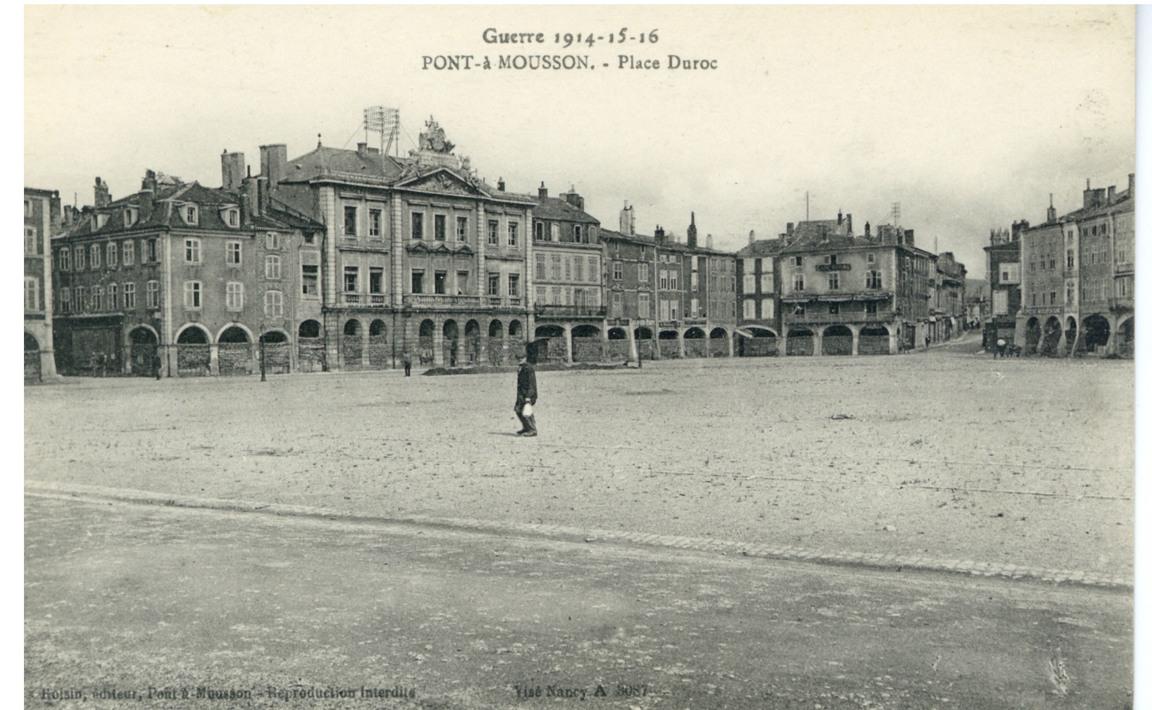 Contenu du Pont-à-Mousson - Place Duroc