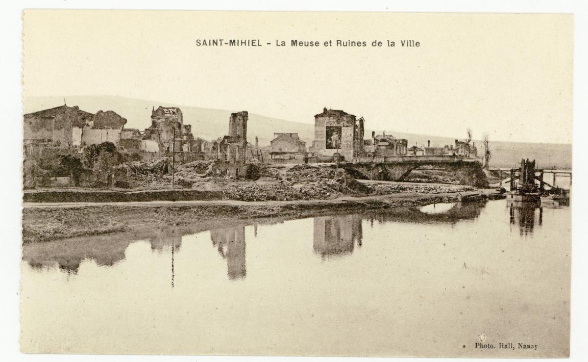 Contenu du Saint-Mihiel : la Meuse et Ruines de la Ville