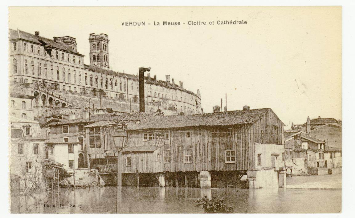 Contenu du Verdun : la Meuse, Cloître et Cathédrale