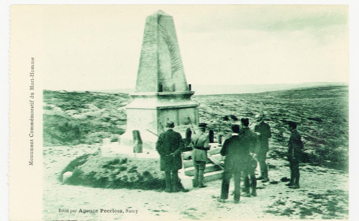 Contenu du Monument aux morts de Cumières-le-Mort-Homme pour la 40e division d'infanterie