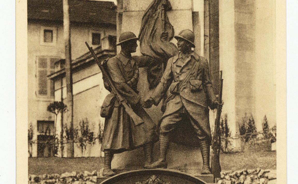 Contenu du Monument aux Morts de Thiaucourt-Regniéville