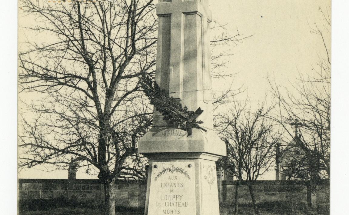Contenu du Monument aux Morts de Louppy-Le-Château