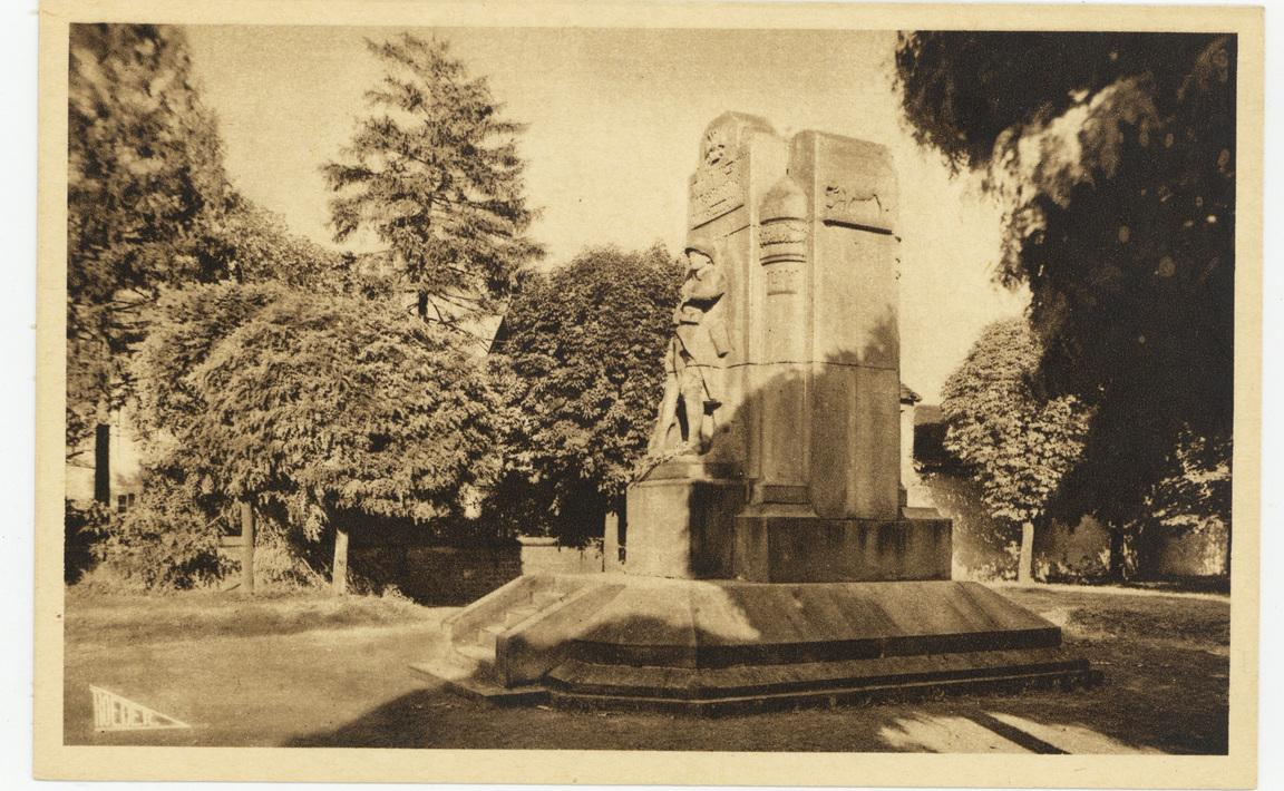 Contenu du Monument aux Morts de Laneuville-les-Raon