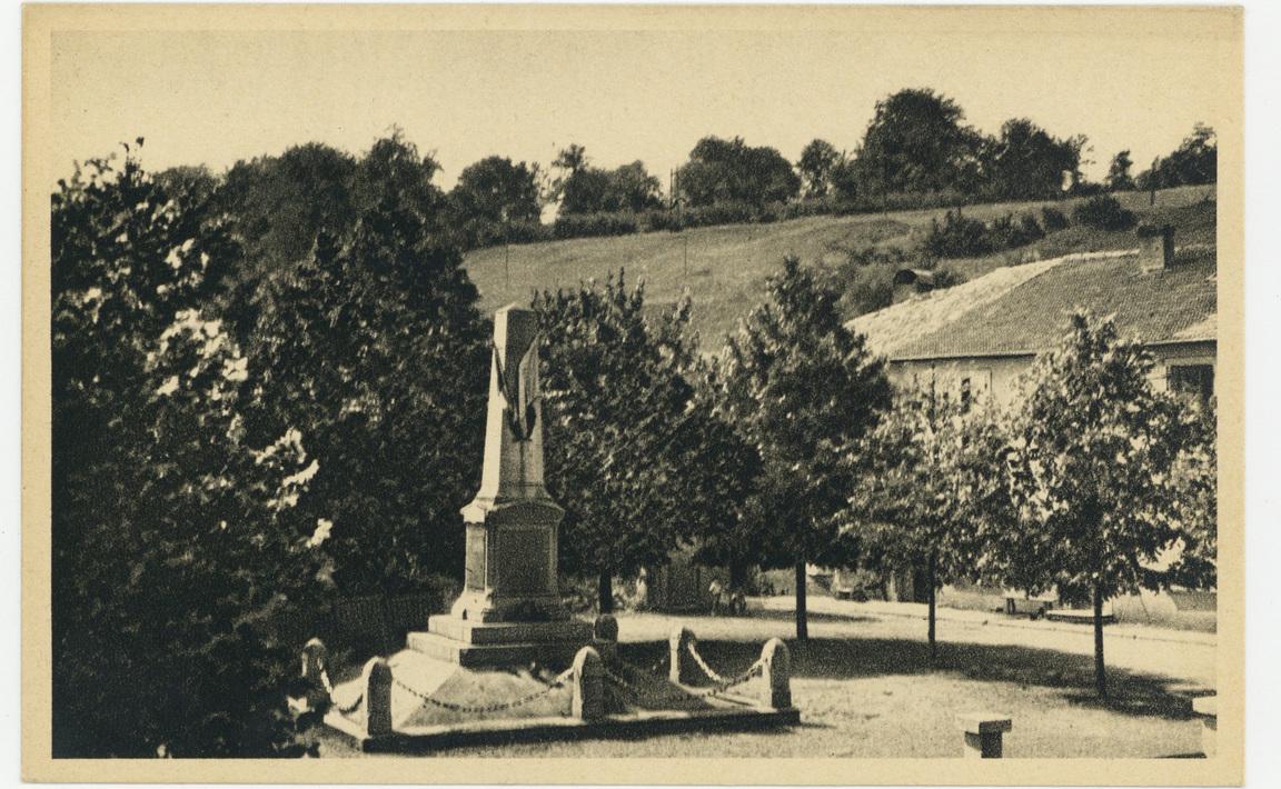 Contenu du Monument aux Morts de Crusnes