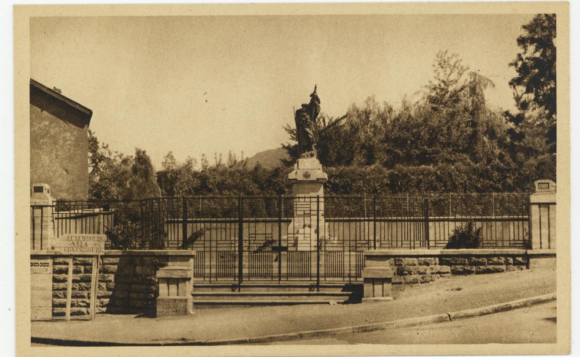 Contenu du Monument aux Morts de Longlaville