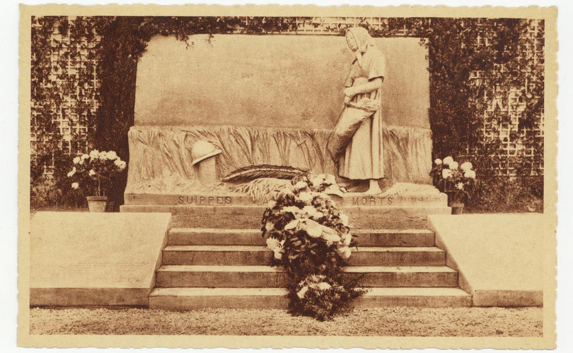 Contenu du Monument aux Morts de Suippes