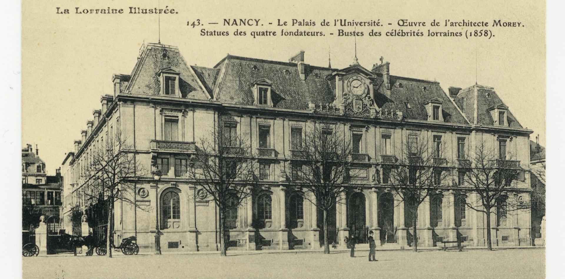 Contenu du Le palais sur la place