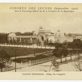 Le congrès des jeunes de 1920 à Nancy