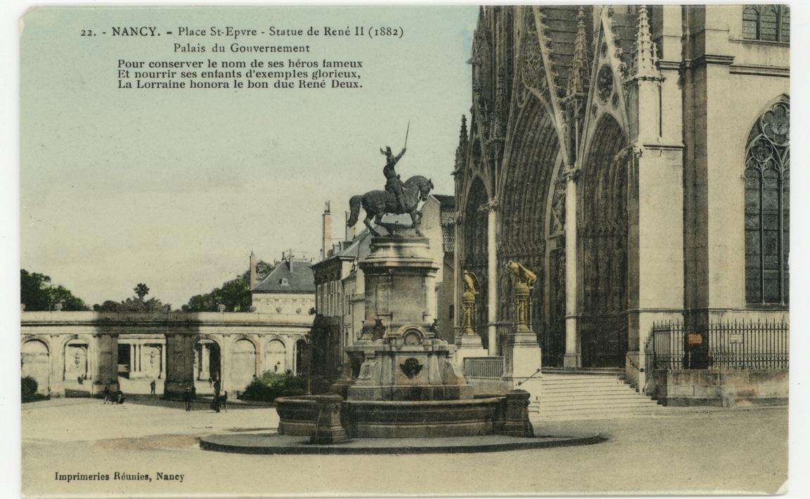 Contenu du Nancy - place Saint-Epvre