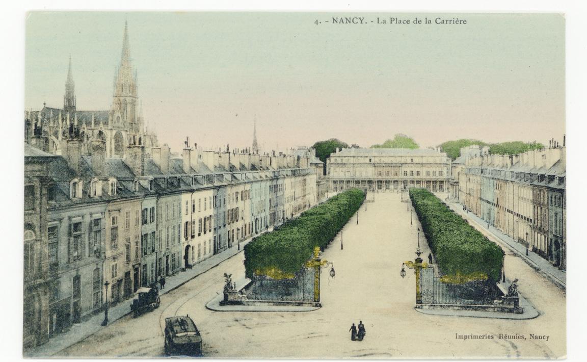 Contenu du Nancy - La Place de la Carrière