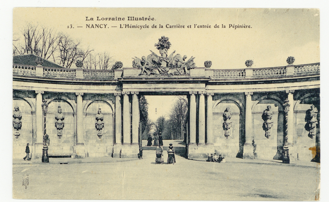 Contenu du Hémicycle de la Carrière