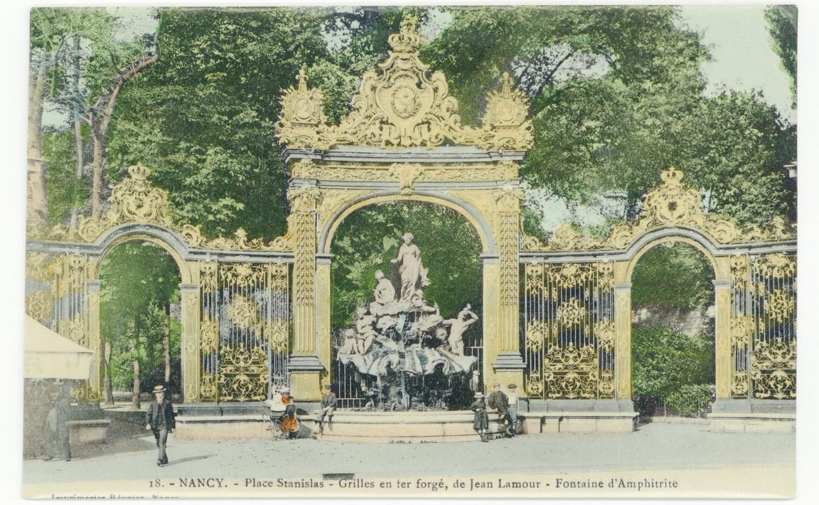 Contenu du Nancy - Place Stanislas : la Fontaine d'Amphitrite