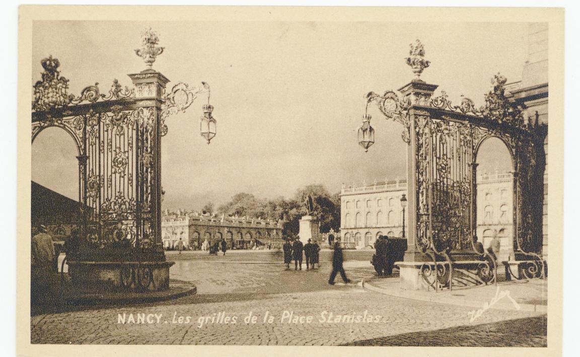 Contenu du Nancy - Les grilles de la Place Stanislas
