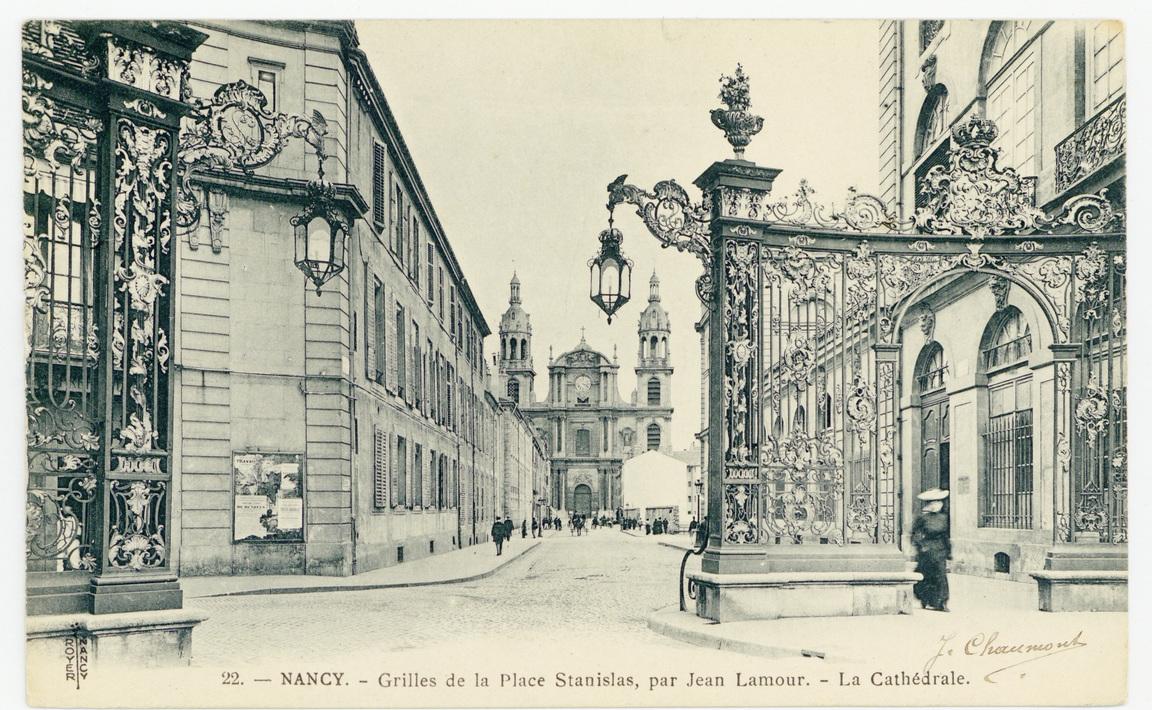 Contenu du Nancy - Grilles de la Place Stanislas, par Jean Lamour