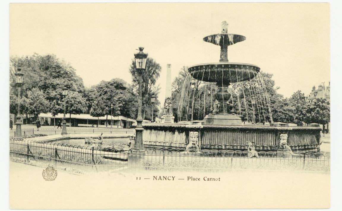 Contenu du Nancy - Place Carnot
