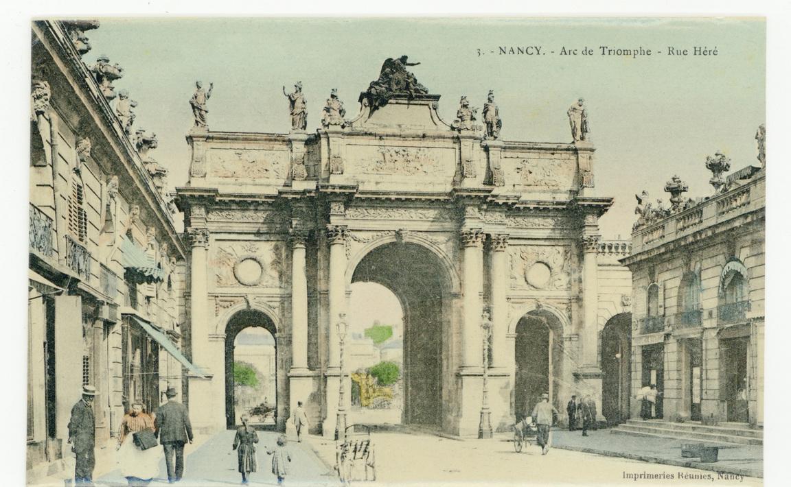 Contenu du Nancy - Arc de Triomphe - Rue Héré