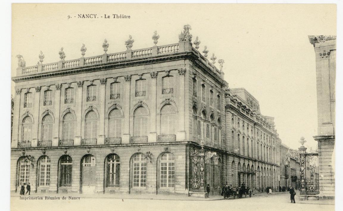 Contenu du Nancy : le Théâtre