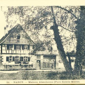 La maison alsacienne après l'Exposition universelle de 1909