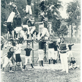 Les gymnastes de la IIIe République