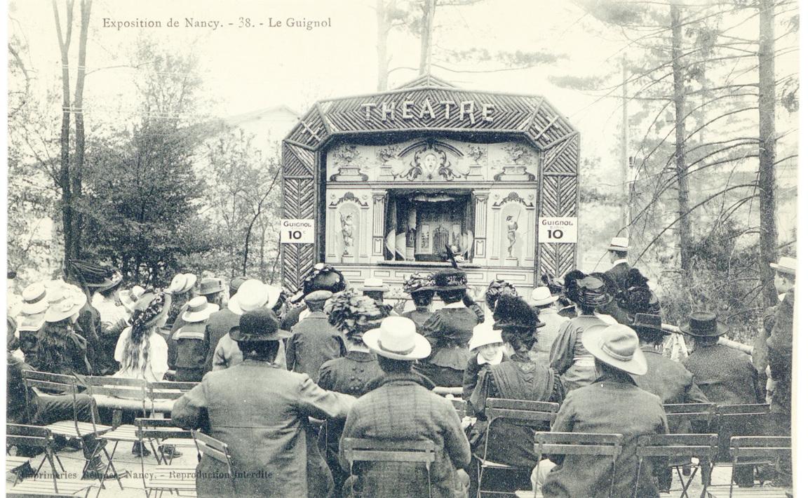 Contenu du Le Guignol : exposition de Nancy