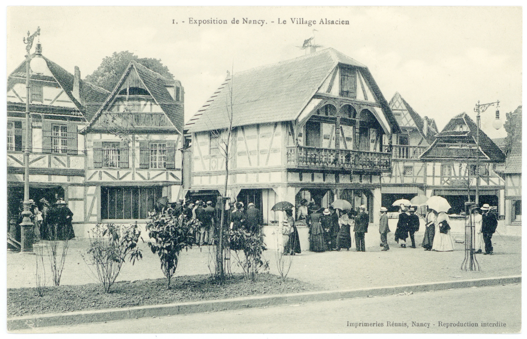 Contenu du Le Village Alsacien
