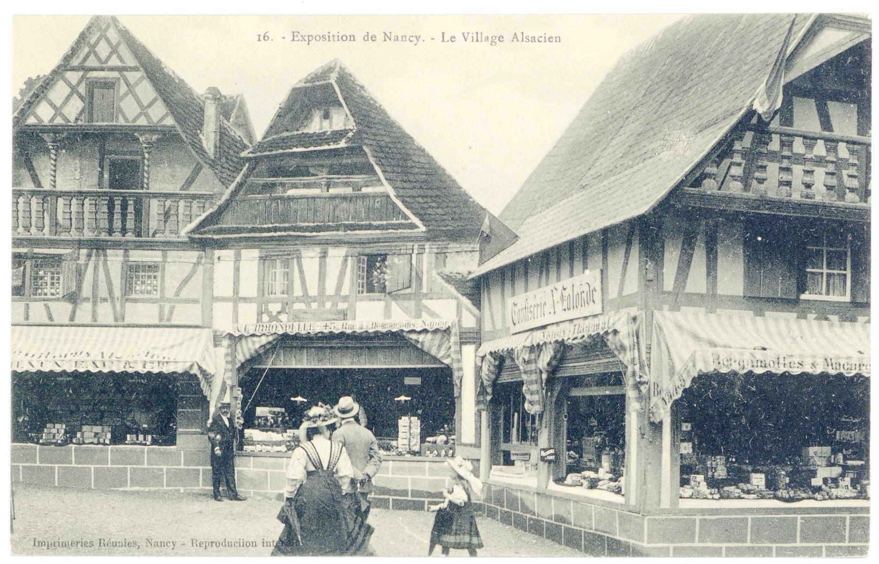 Contenu du Les boutiques du village