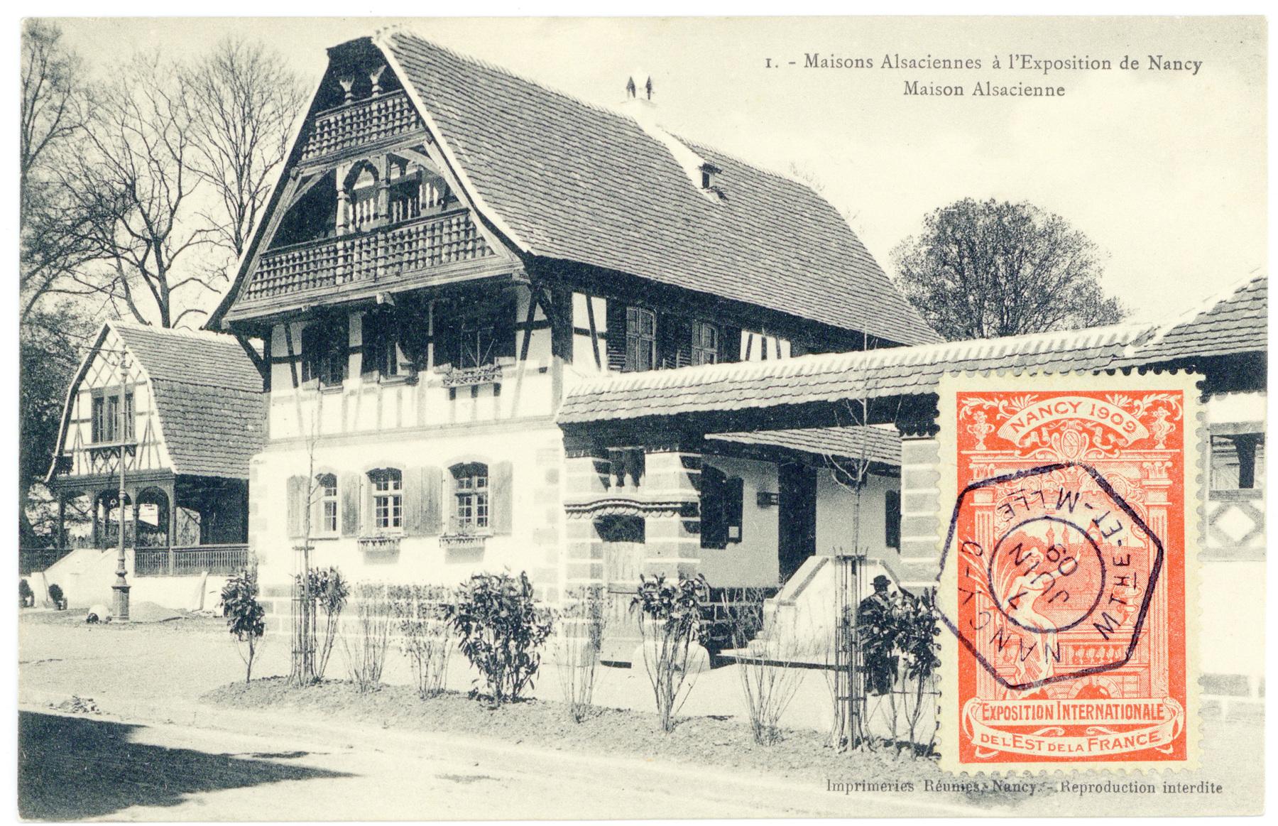 Contenu du Maison alsacienne