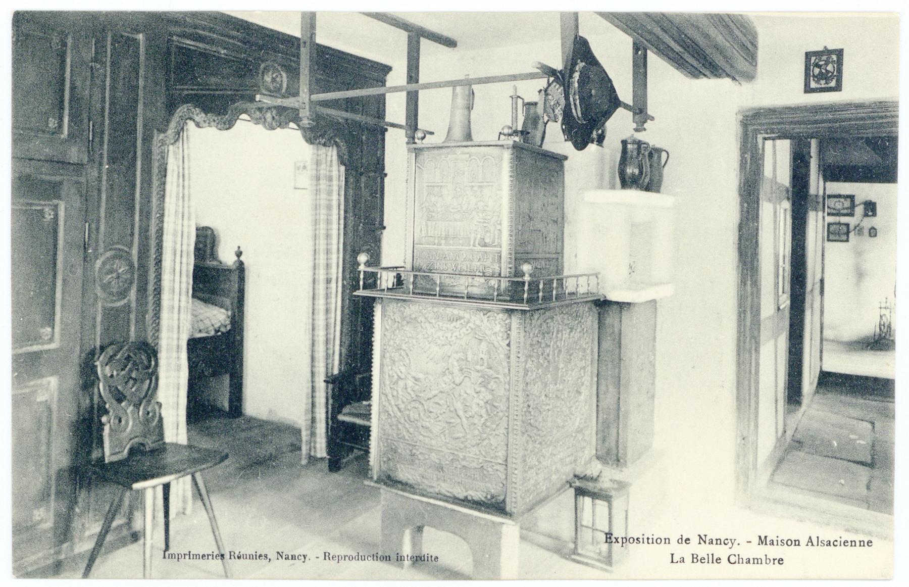 Contenu du La Belle Chambre