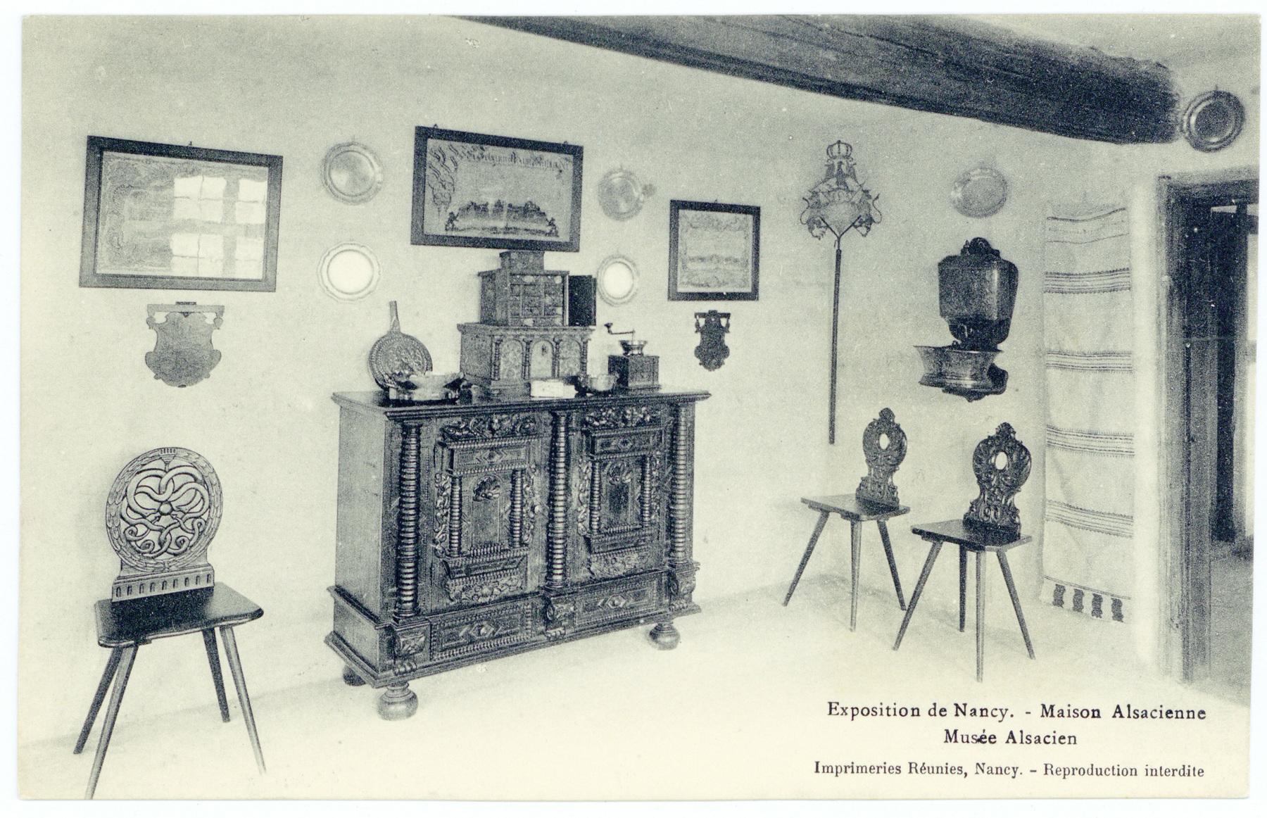 Contenu du Musée Alsacien - intérieur