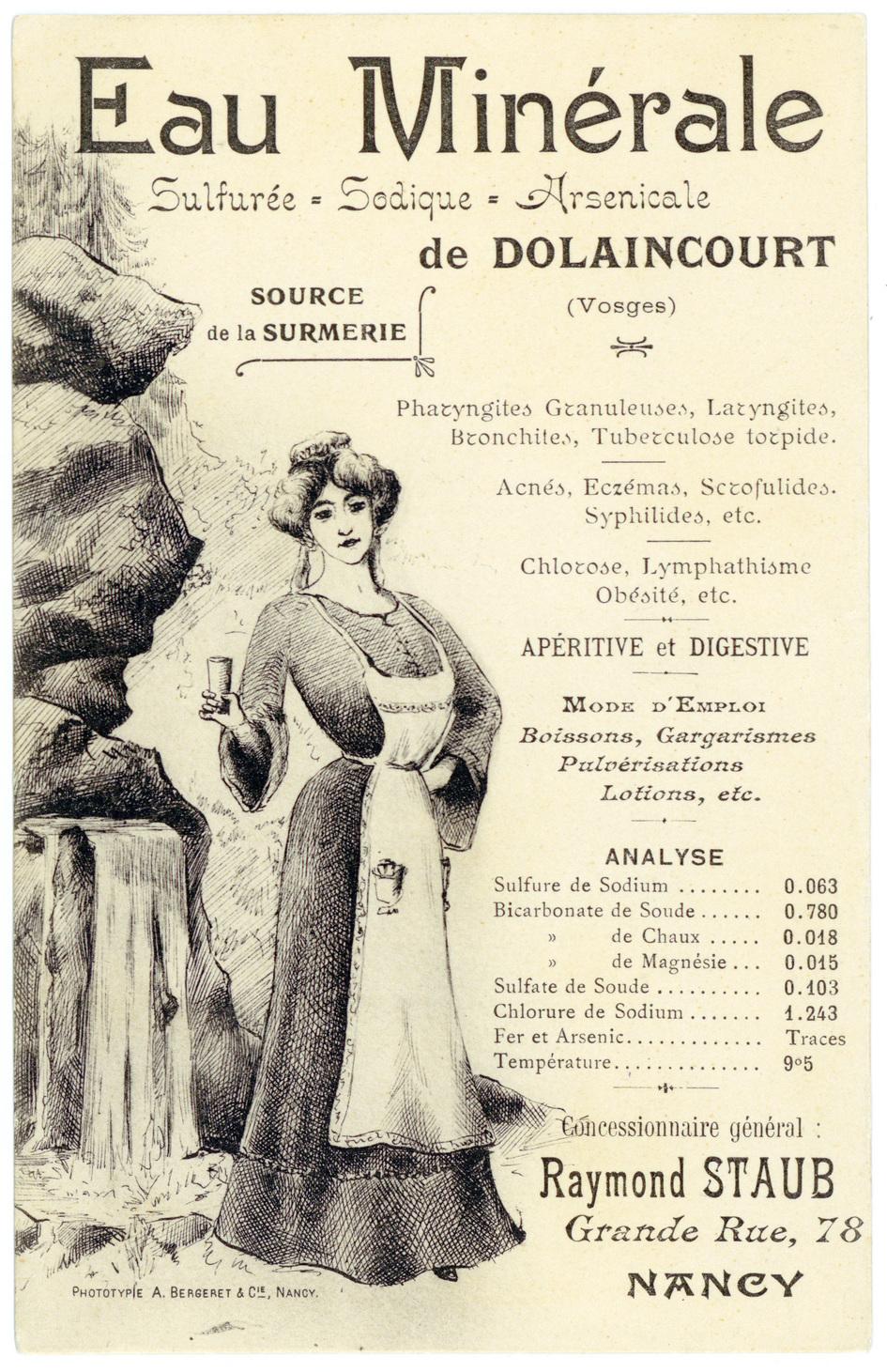 Contenu du Les sources thermales en Lorraine