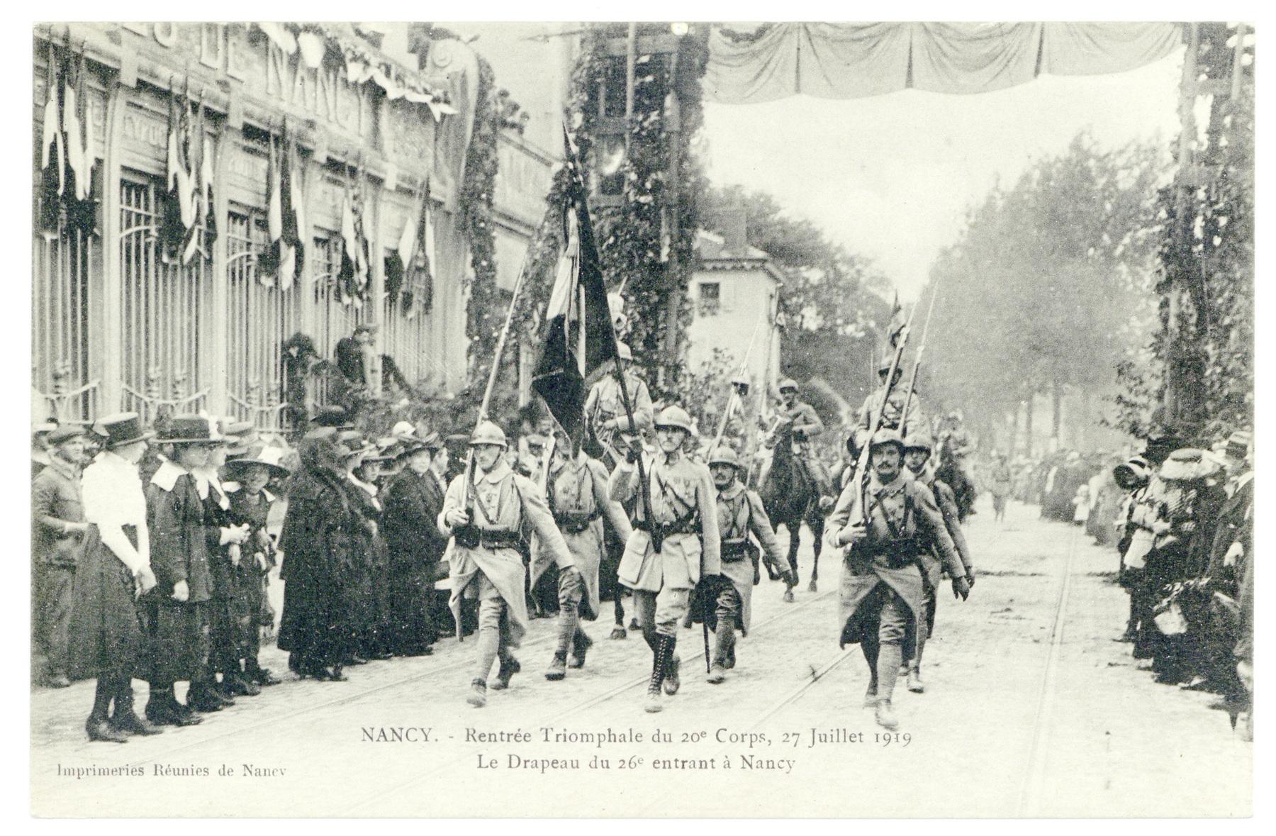 Contenu du Le régiment de Nancy
