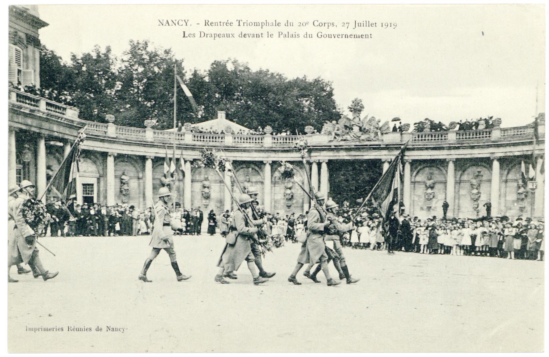 Contenu du Les Drapeaux du 20e Corps