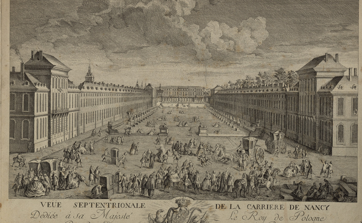 Contenu du Place de la Carrière de Nancy