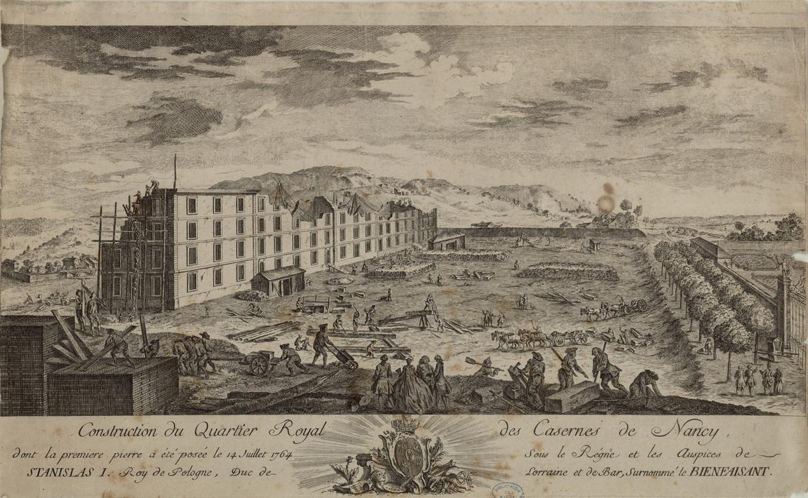 Contenu du Les Casernes royales de Nancy
