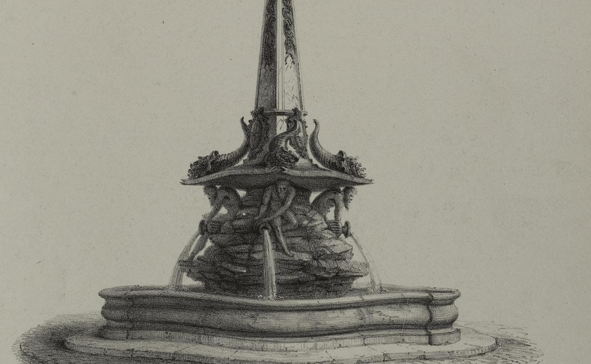 Contenu du Fontaine de la place d'Alliance