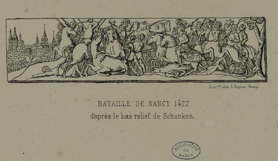 Contenu du La bataille de Nancy