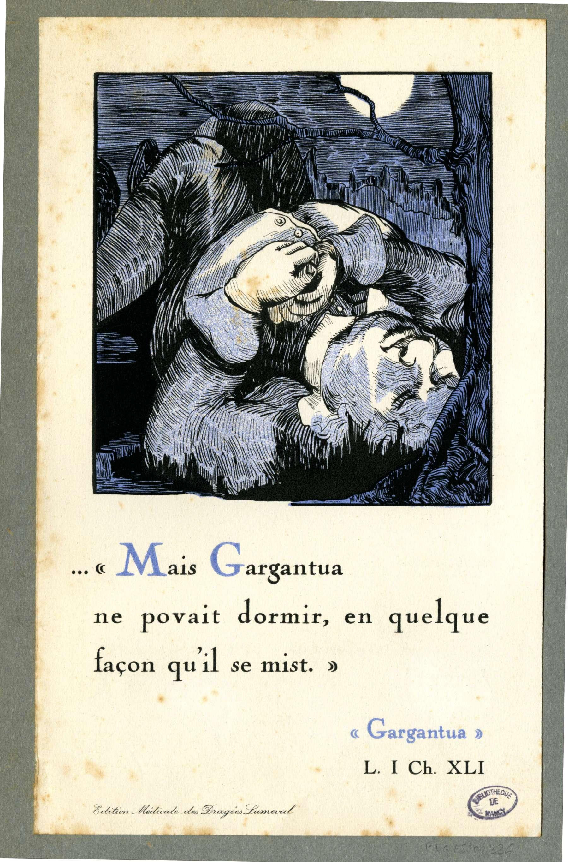 Contenu du Mais Gargantua ne povait dormir