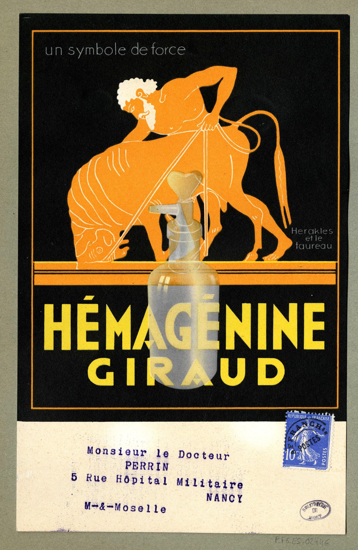 Contenu du Hémagénine Giraud