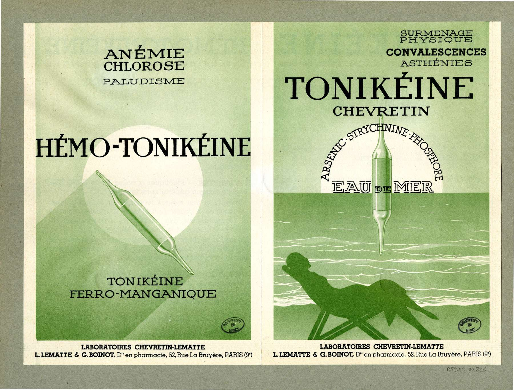 Contenu du Tonikéine