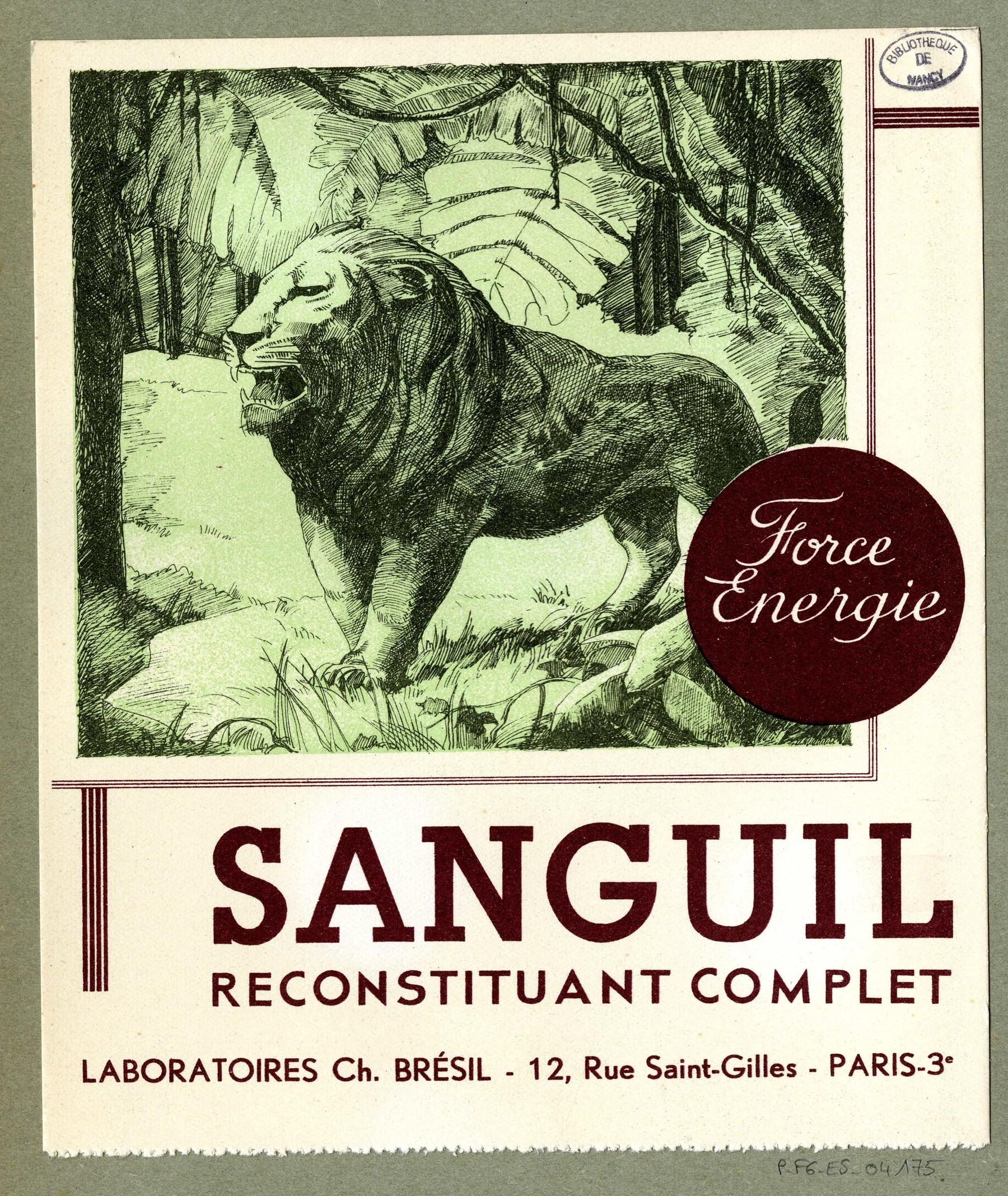 Contenu du Sanguil
