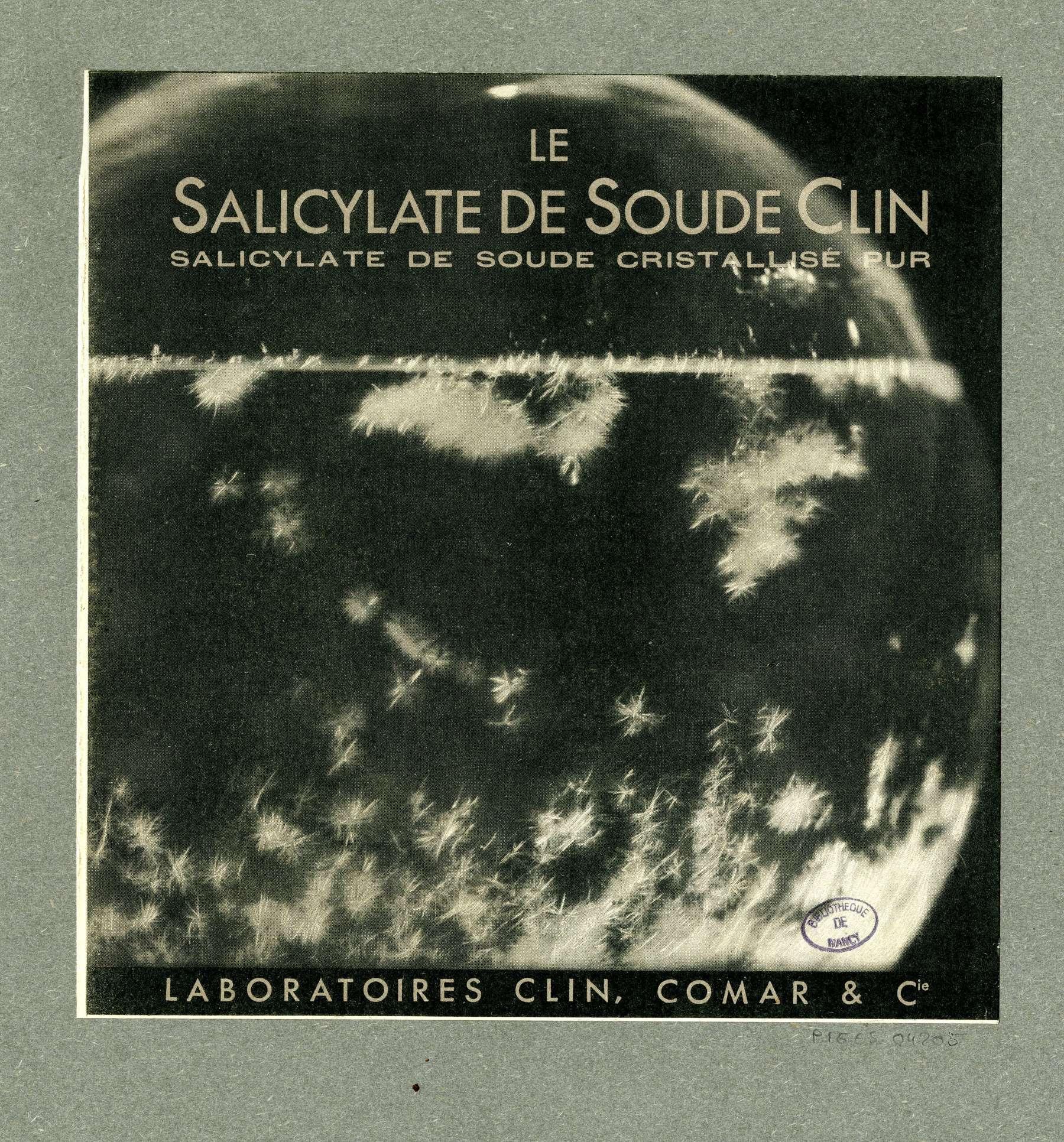 Contenu du Le salicylate de soude Clin