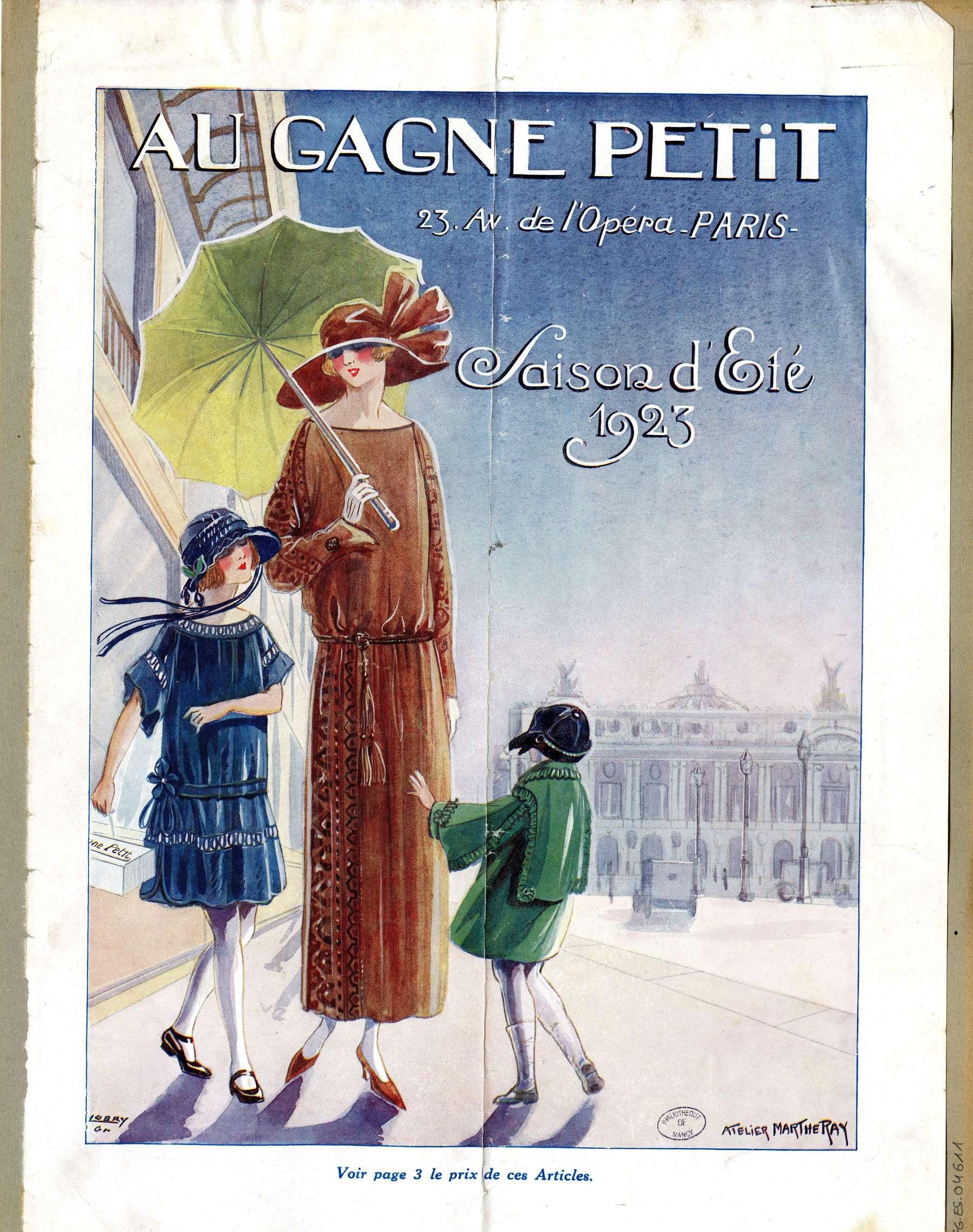 Contenu du Saison d'été 1923