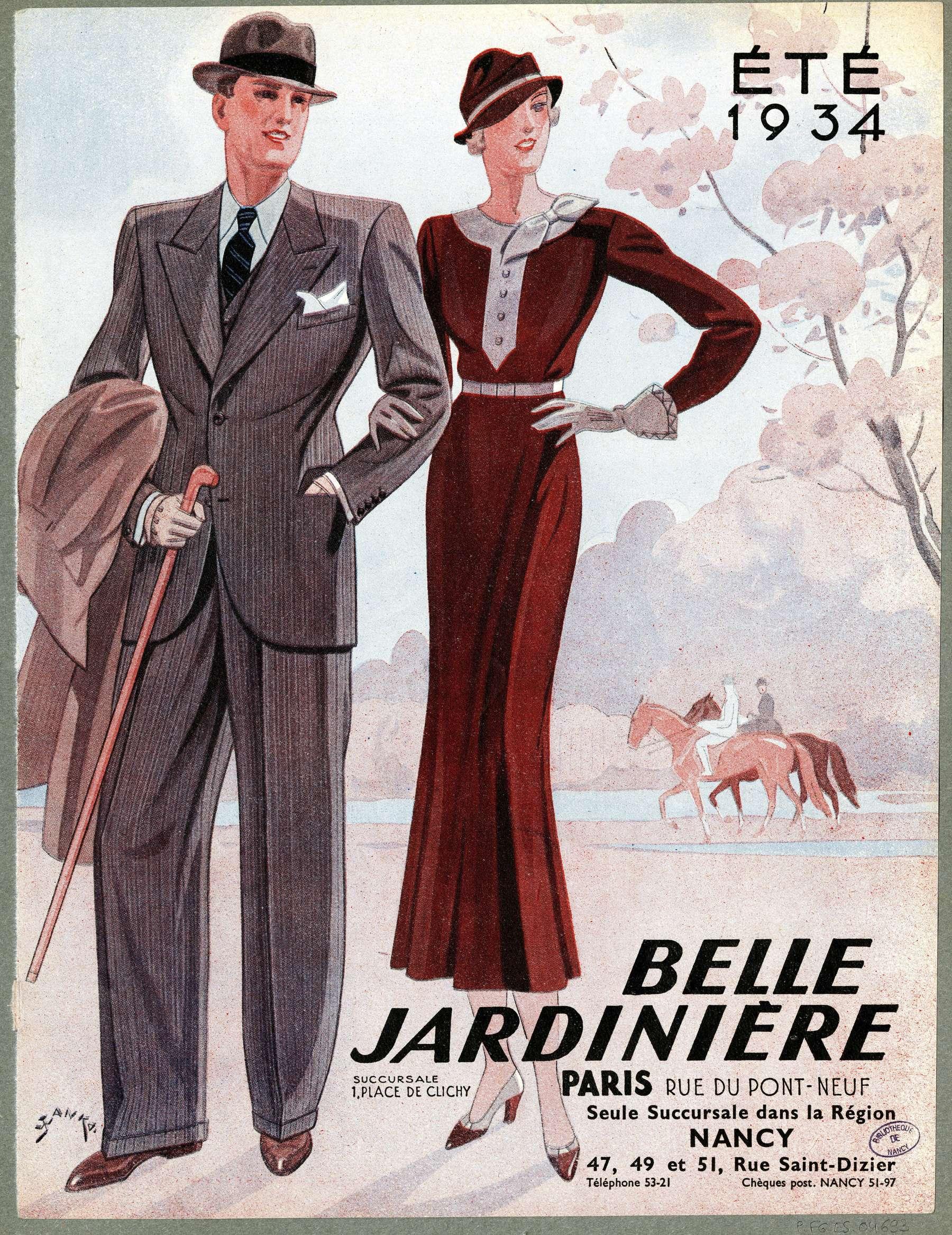 Contenu du Eté 1934