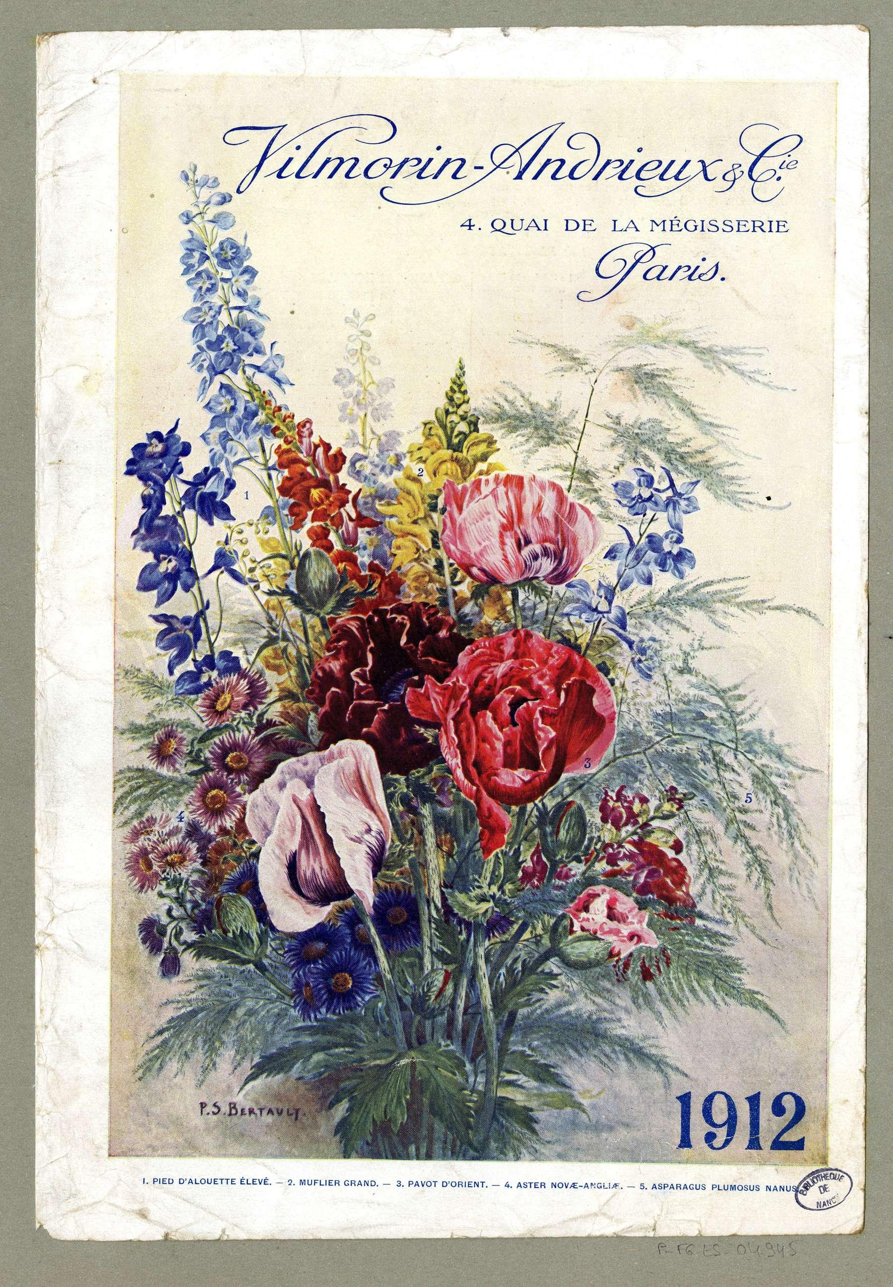 Contenu du Bouquet de fleurs