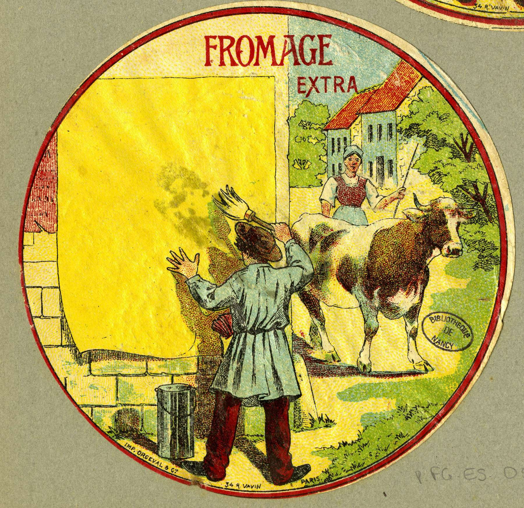 Contenu du Fromage extra