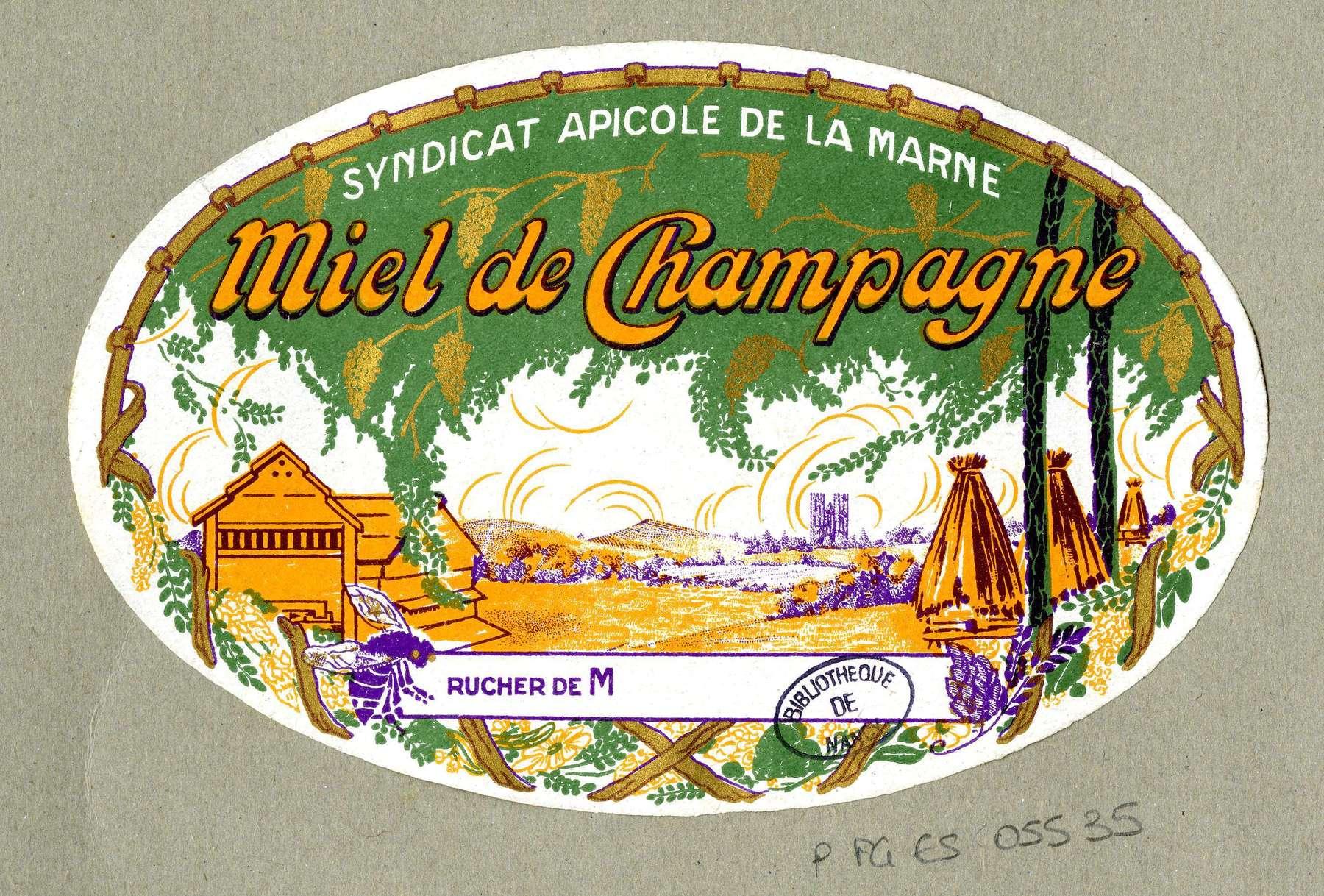 Contenu du Miel de Champagne