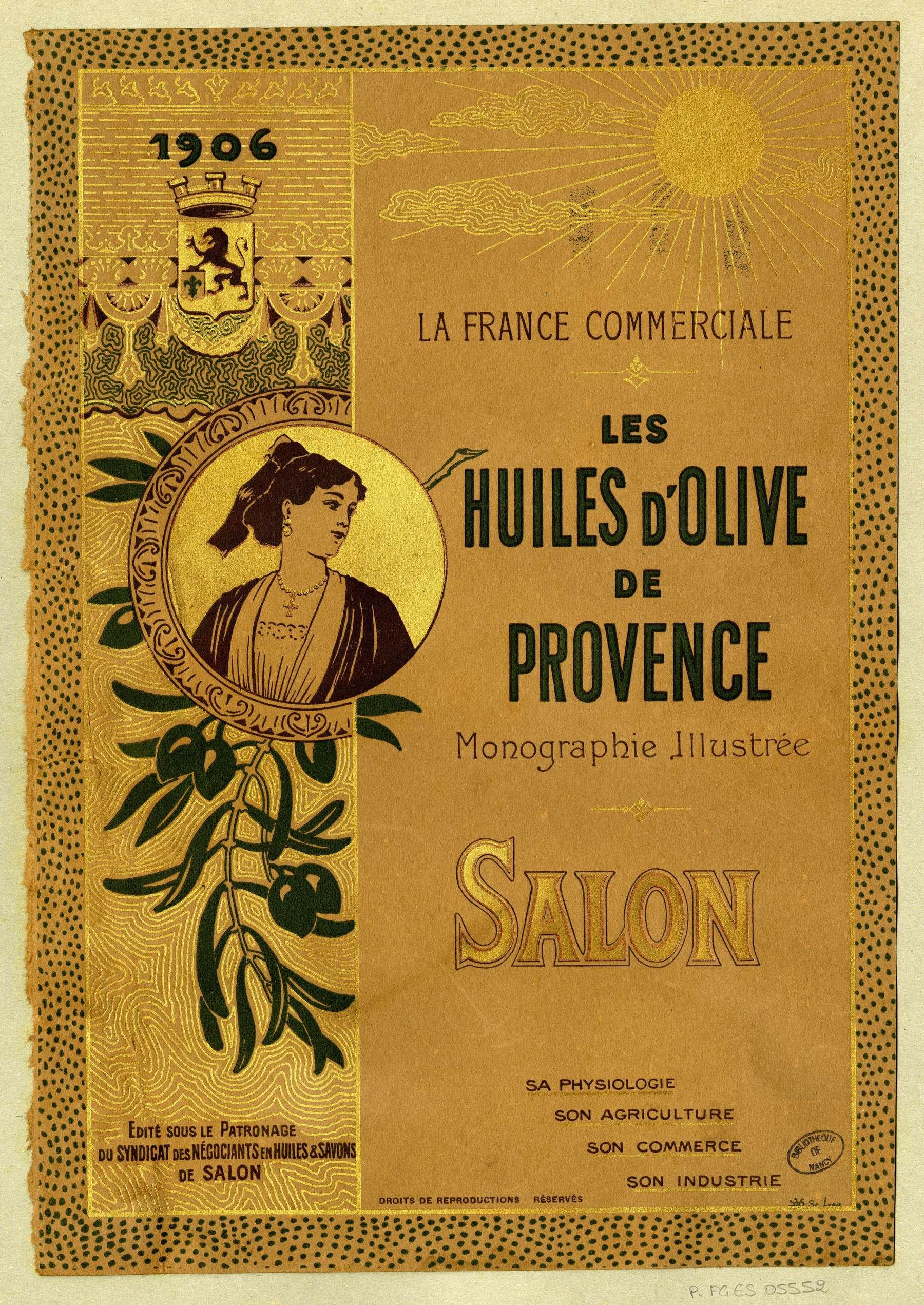 Contenu du Les huiles d'olive de Provence