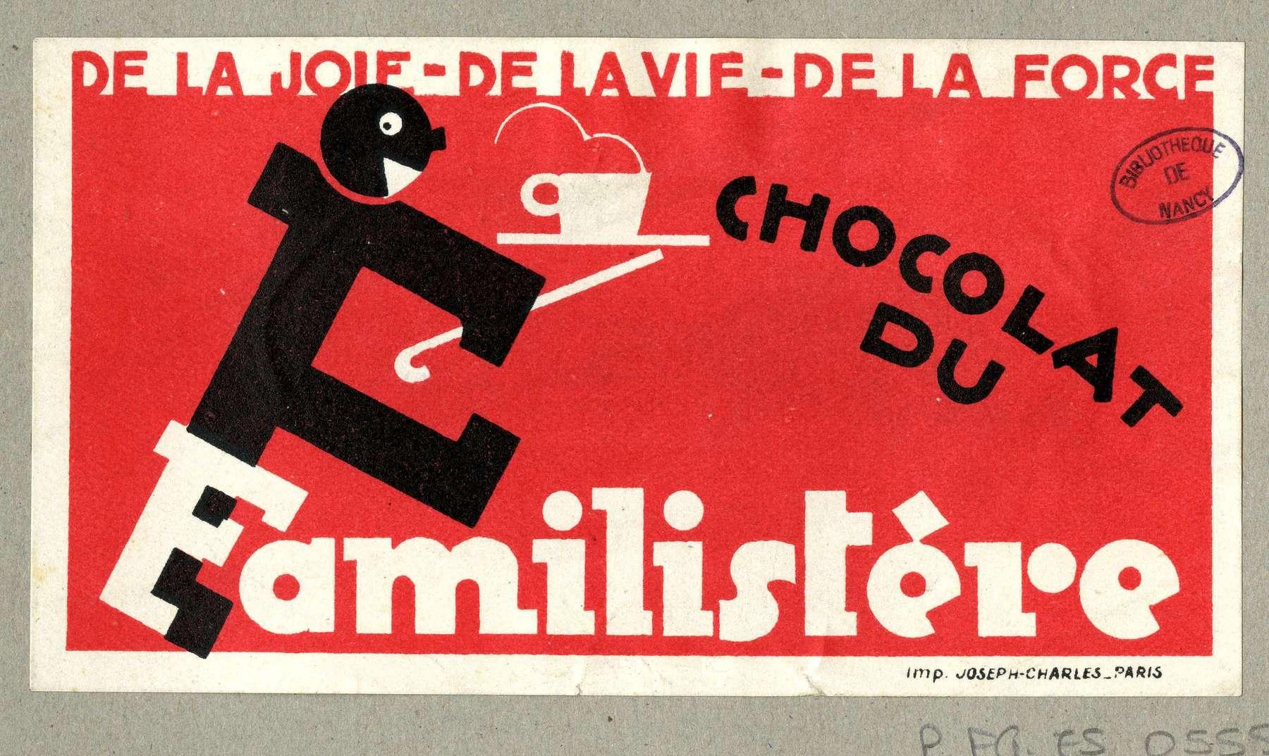 Contenu du Chocolat du familistère