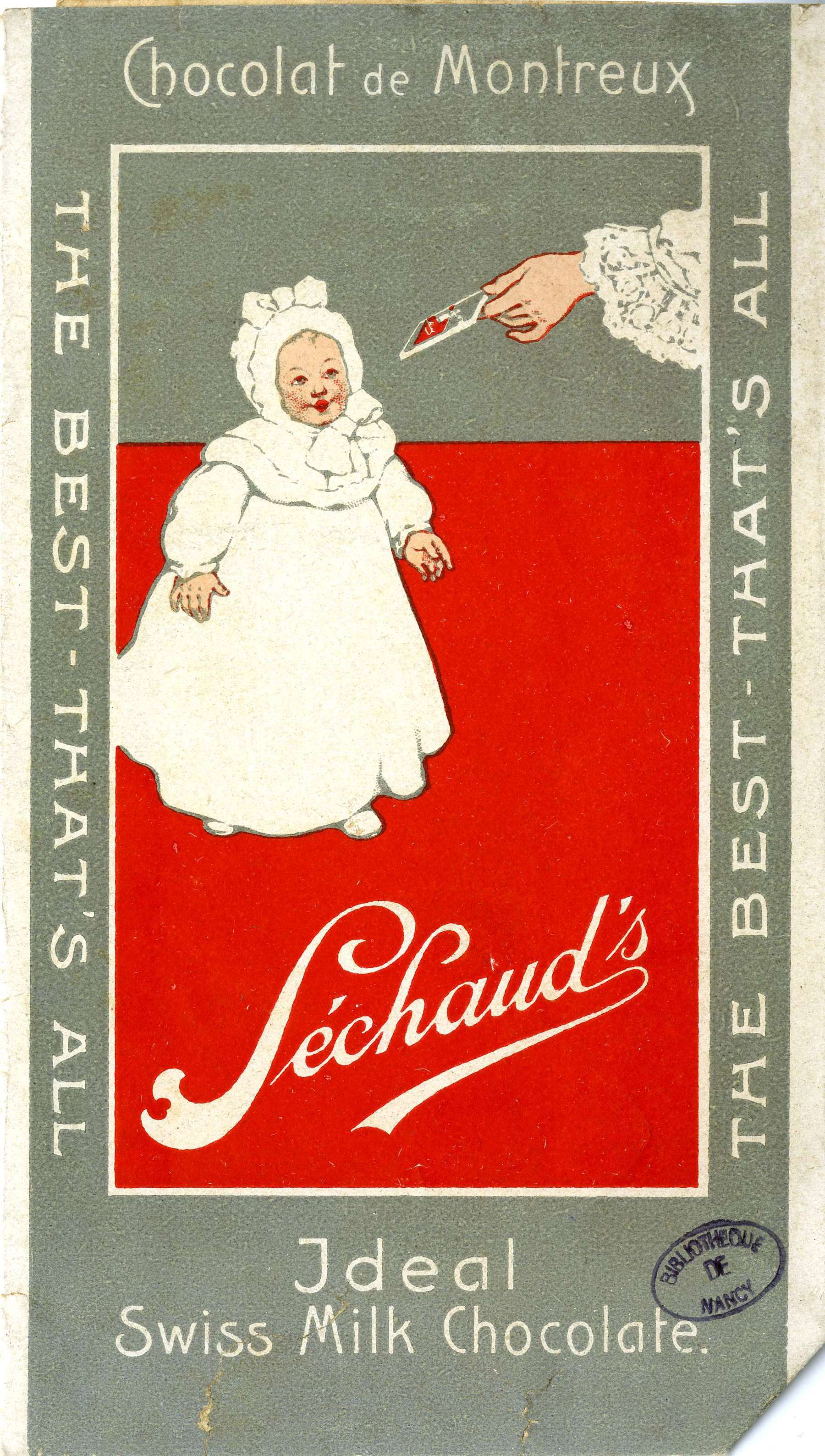 Contenu du Chocolat de Montreux