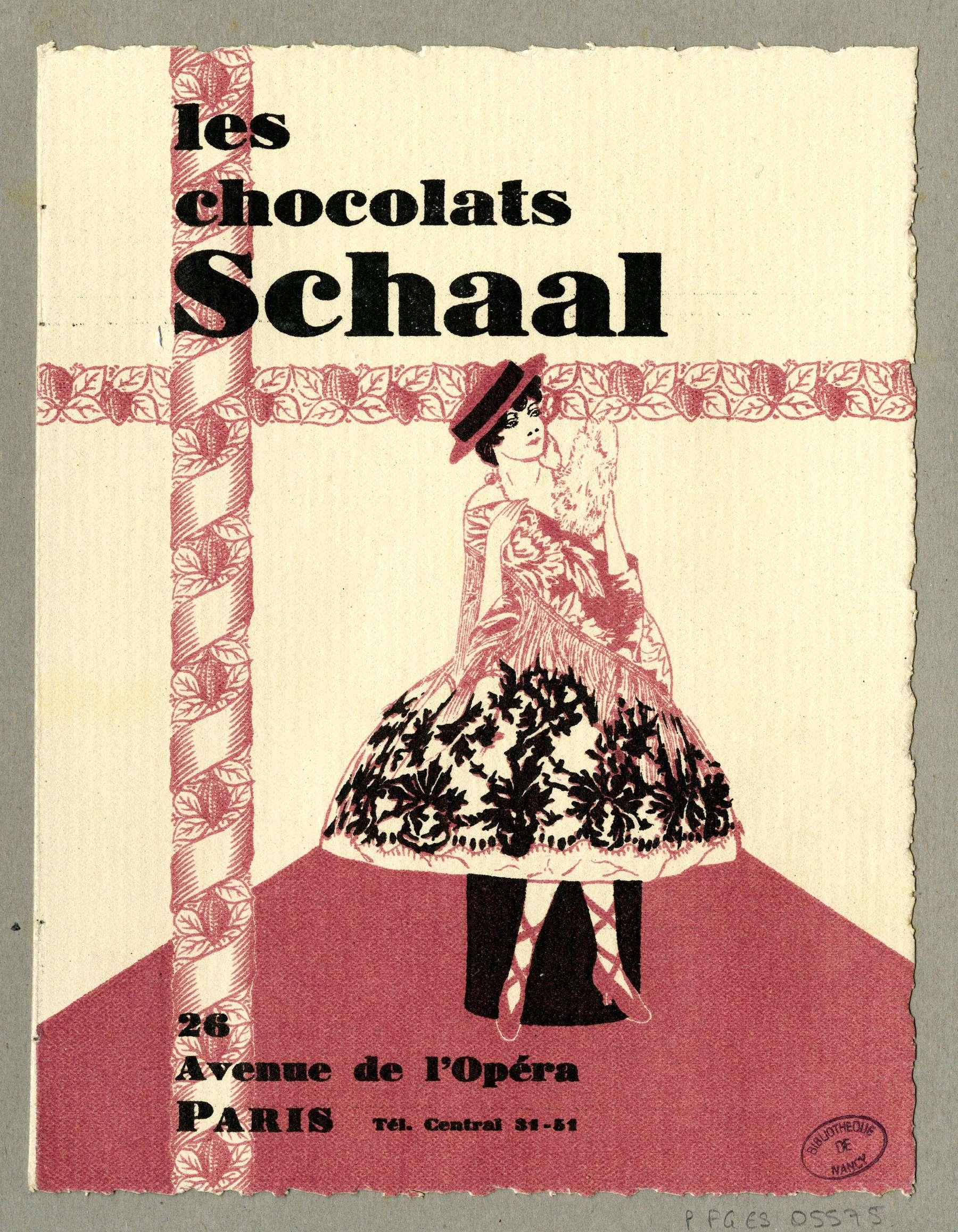 Contenu du Les chocolats Schaal